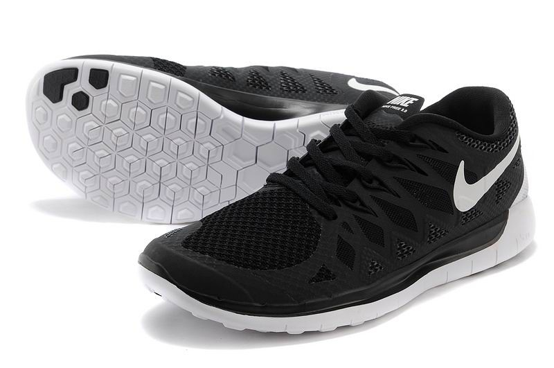 Nike Free 5.0 2014 Men\'s Running Shoe Black Anthracite White