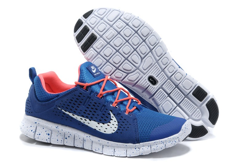 Nike Free Powerlines 2 Mens Blue Red Shoes