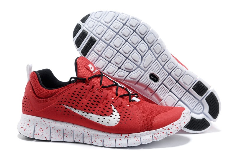 Nike Free Powerlines 2 Mens Red Shoes