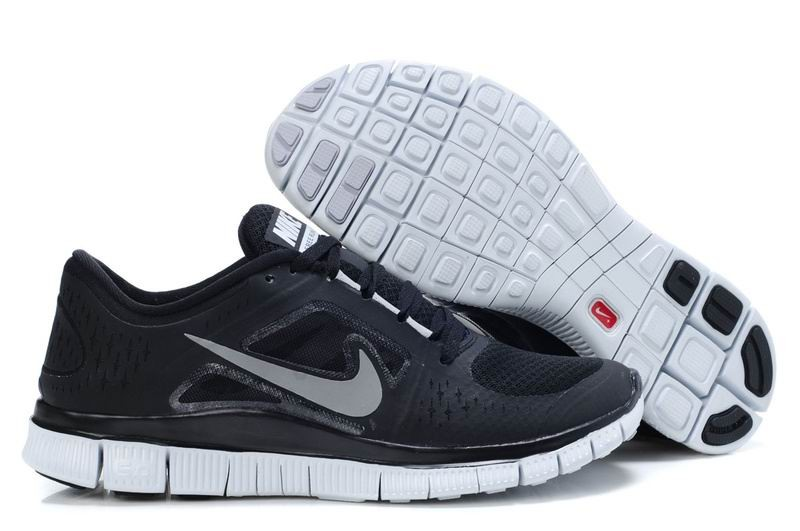 Nike Free Run+ 3 Men's Running Shoe Black