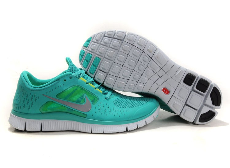 Nike Free Run+ 3 Men's Running Shoe Green