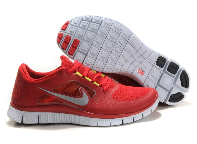 Nike Free Run+ 3 Men's Running Shoe Red