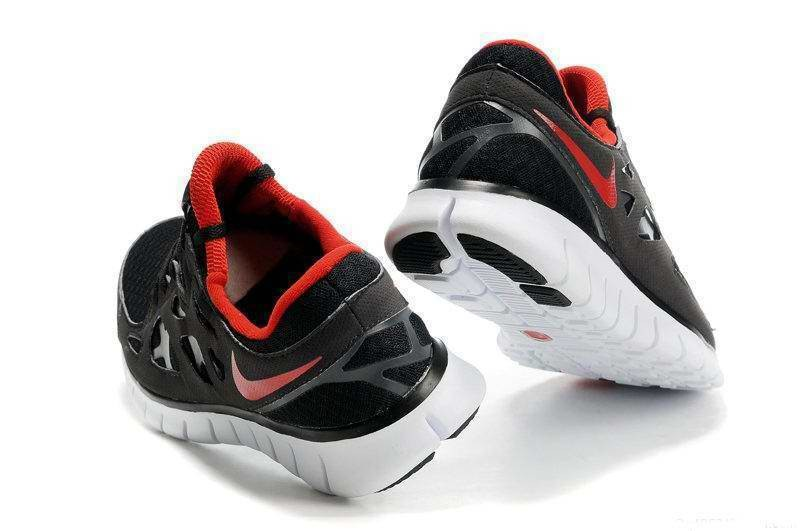 Nike Free Run 2 Womens Running Shoes Anthracite Black Red White