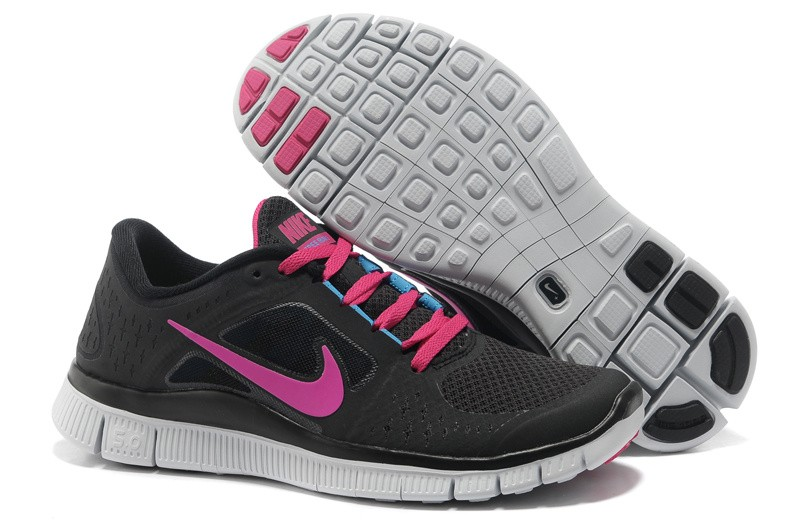 Nike Free Run 3 Womens Running Shoes Black Peachblow