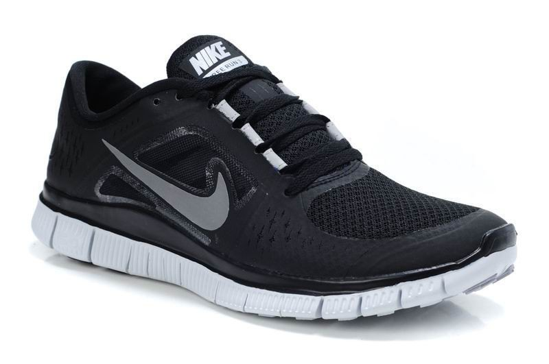 Nike Free Run 3 Womens Running Shoes Black
