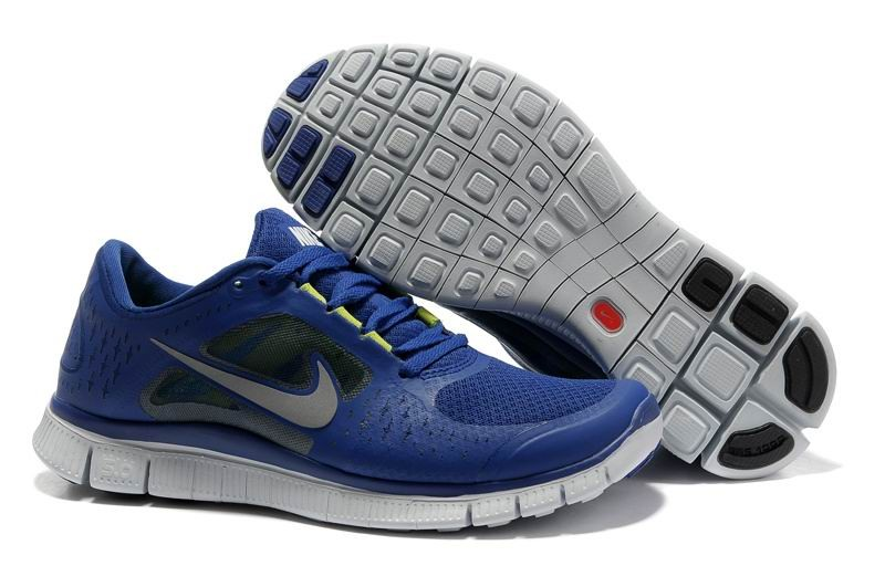 Nike Free Run 3 Womens Running Shoes Blue
