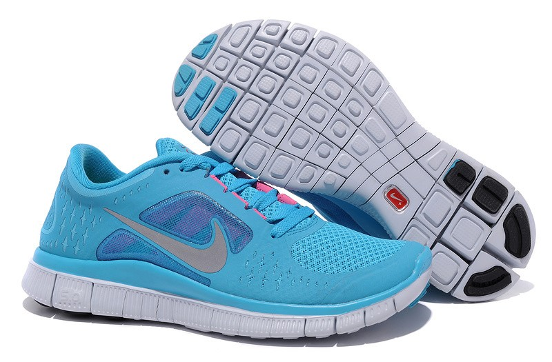 Nike Free Run 3 Womens Running Shoes Dark Turquoise