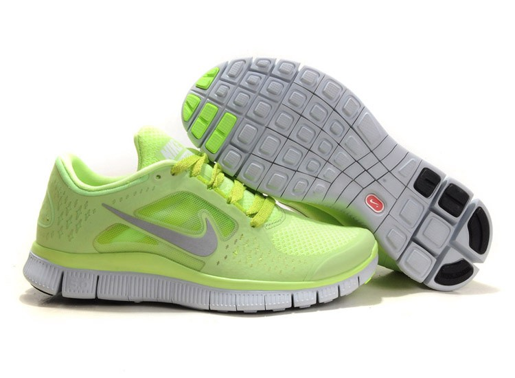 Nike Free Run 3 Womens Running Shoes Fluorescence Yellow