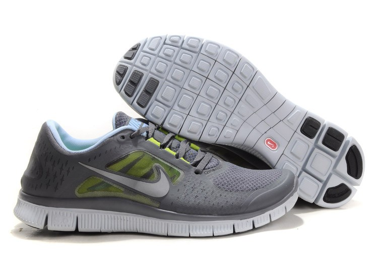 Nike Free Run 3 Womens Running Shoes Grey