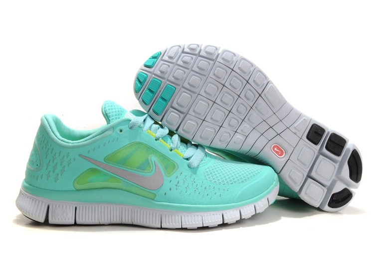 Nike Free Run 3 Womens Running Shoes Mint Green