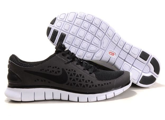 Nike Free Run Womens Shoes Anthracite Black