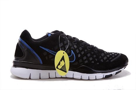 Nike Free TR Fit 2 Mens Running Shoes Black Blue