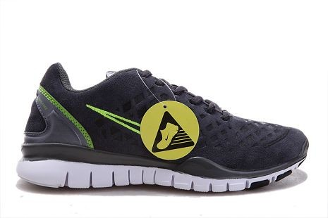 Nike Free TR Fit 2 Mens Running Shoes Dark Grey Green
