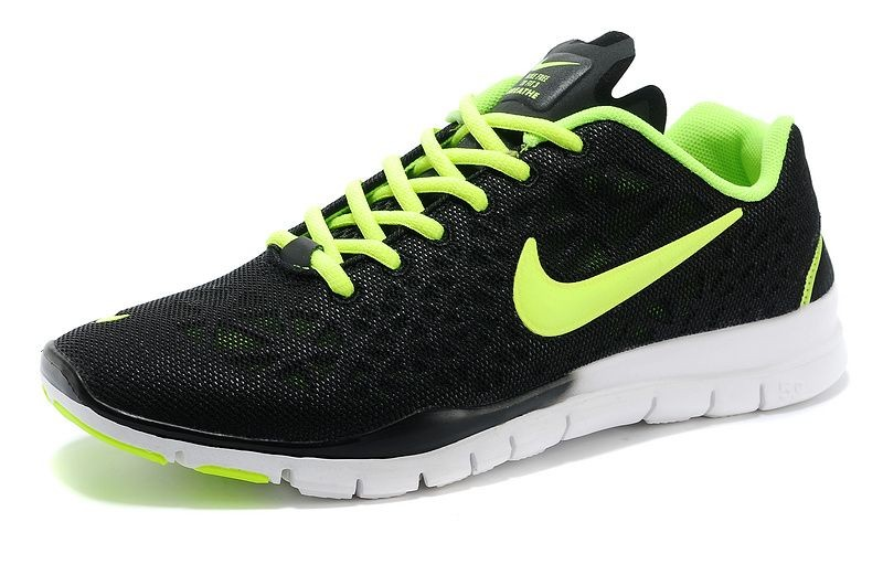 Nike Free TR Fit 3 Breathe Men\'s Training Shoe Black Volt