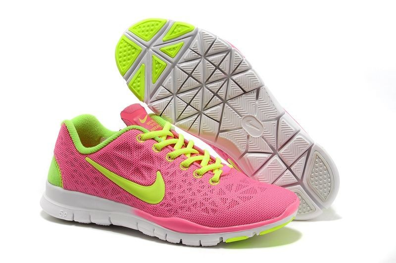 Nike Free TR Fit 3 Breathe Women\'s Training Shoe Pink Volt