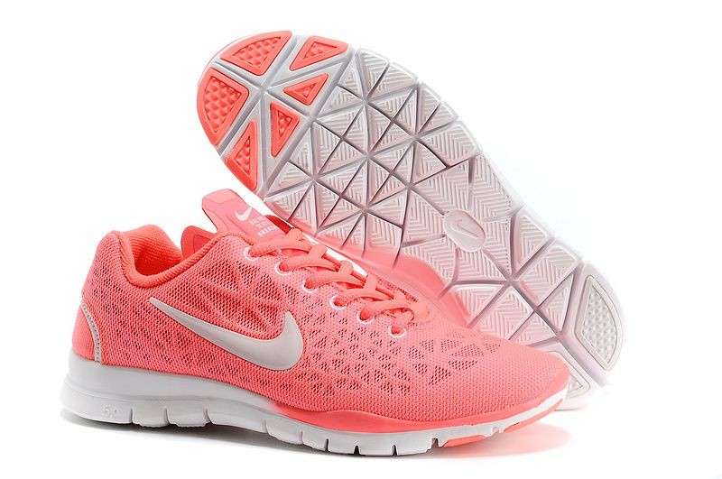 Nike Free TR Fit 3 Breathe Women's Training Shoe Salmon Red Grey