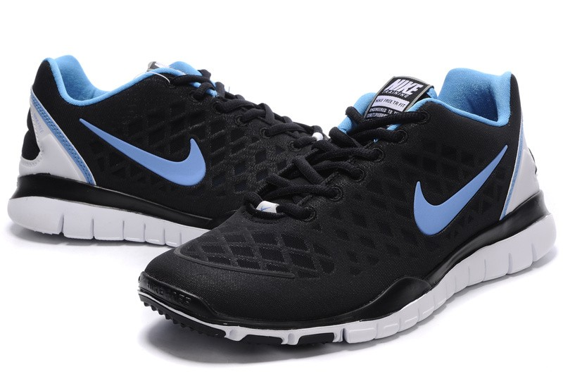 Nike Free TR Fit Mens Training Shoes Black Blue