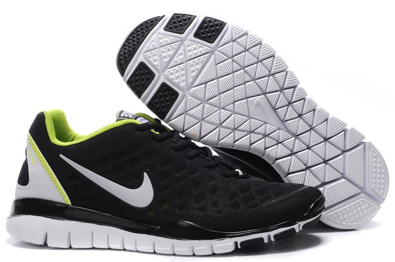 Nike Free TR Fit Mens Training Shoes Black Green
