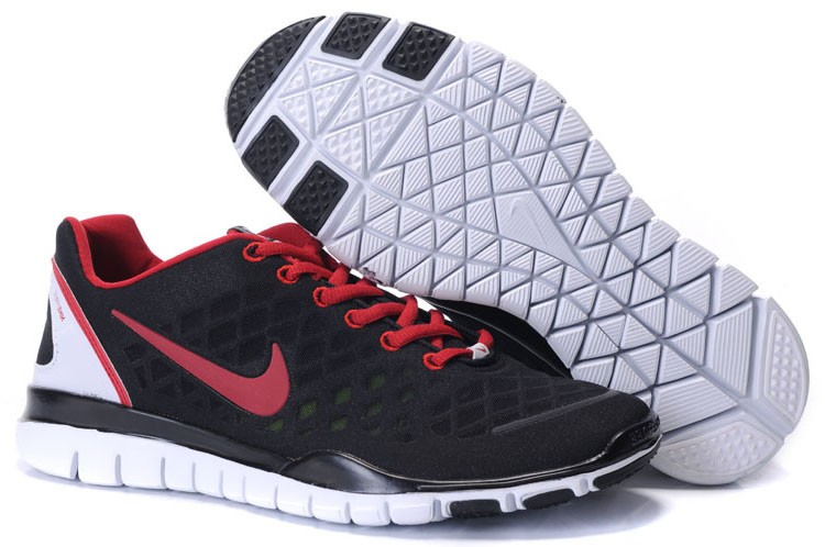 Nike Free TR Fit Mens Training Shoes Black Red
