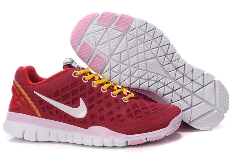 Nike Free TR Fit Womens Training Shoes Red