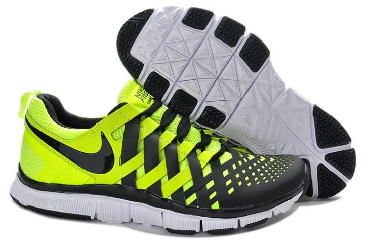 Nike Free Trainer 5.0 V4 Mens Volt Black Training Shoes
