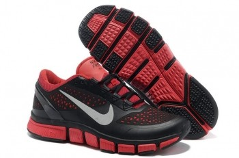 Nike Free Trainer 7.0 Men's Training Shoe Black Varsity Red Reflect Silver