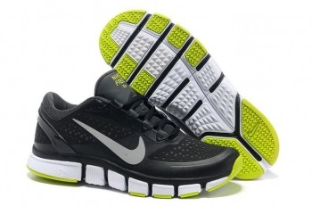 Nike Free Trainer 7.0 Men's Training Shoe Dark Grey Black Volt Reflect Silver