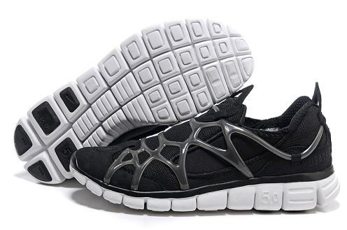 Nike Kukini Free Mens Running Shoes Black White
