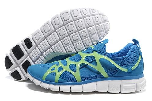 Nike Kukini Free Mens Running Shoes Photo Blue Green White
