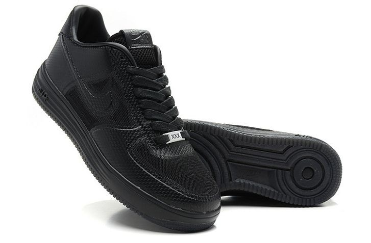 Nike Lunar Force 1 City Pack Low Mens Shoes Black