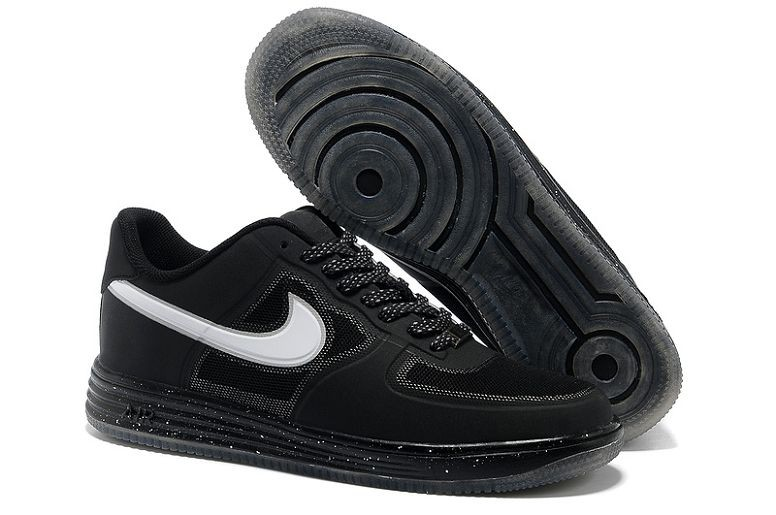 Nike Lunar Force 1 Fuse NRG Mens Shoes Black White