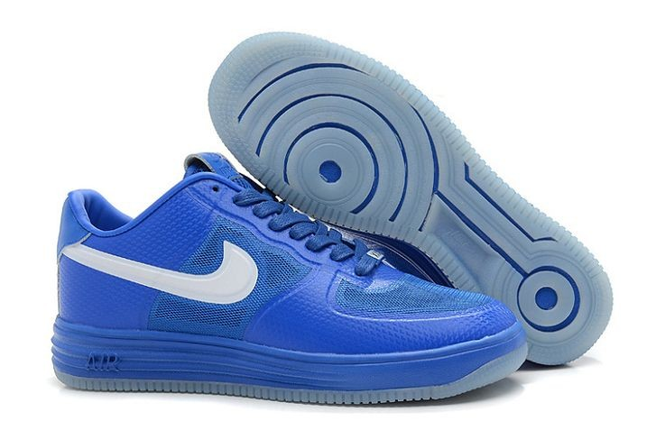 Nike Lunar Force 1 Fuse NRG Mens Shoes Blue White