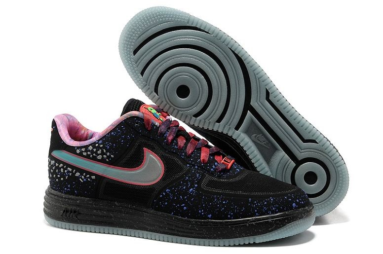 Nike Lunar Force 1 Fuse Premium QS Mens Area 72 All Star Rayguns