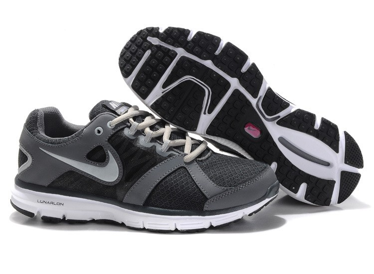 Nike Lunar Forever 2 Mens Carbon Grey Black Running Shoes