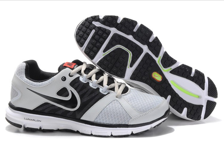 Nike Lunar Forever 2 Mens Grey Black Running Shoes