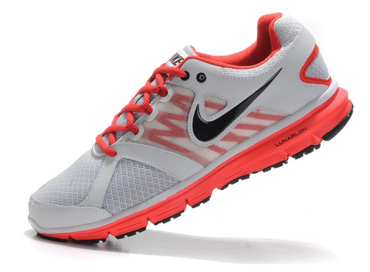 Nike Lunar Forever 2 Mens Grey Red Running Shoes