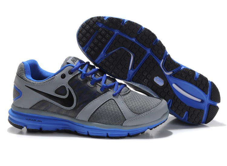 Nike Lunar Forever 2 Mens Grey Royalblue Running Shoes