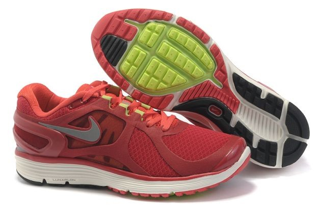 Nike LunarEclipse+ 2 Men's Running Shoes Gym Red Silver