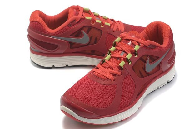 Nike LunarEclipse+ 2 Men\'s Running Shoes Gym Red Silver