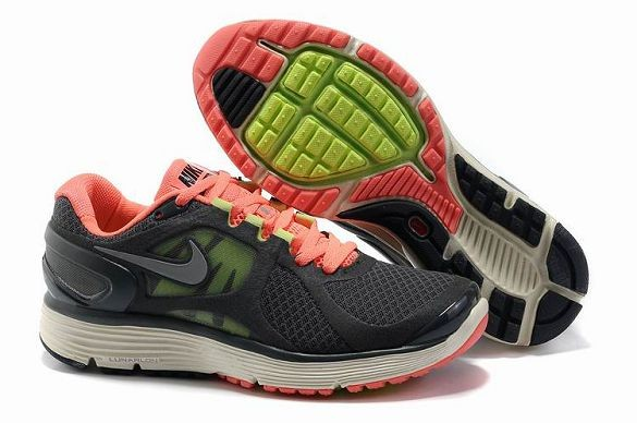 Nike LunarEclipse+ 2 Women's Running Shoes Black Total Orange Silver