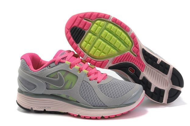 Nike LunarEclipse+ 2 Women's Running Shoes Wolf Grey Pink Silver