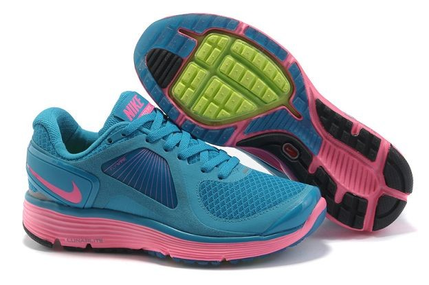 Nike LunarEclipse+ Women's Running Shoes Vivid Blue Pink