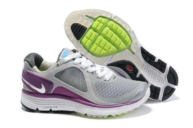 Nike LunarEclipse+ Women's Running Shoes Wolf Grey Purple