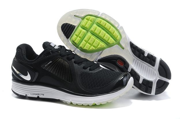 Nike LunarEclipse Men's Running Shoes Black Silver