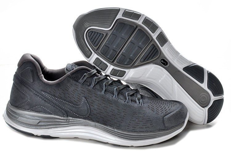 Nike Lunarglide 4 Anti-Fur Mens Grey Shoes