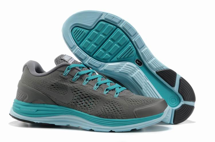 Nike Lunarglide 4 Mens Running Shoes Wolf Grey Jade