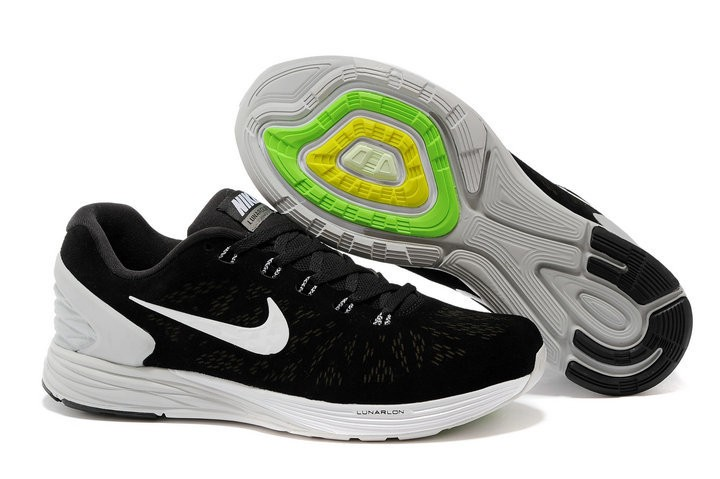 Nike Lunarglide 6 Anti-Fur Mens Shoes Black White