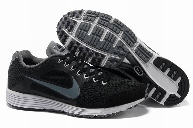 Nike Lunarspider LT+ 2 Mens Black Grey Running Shoes