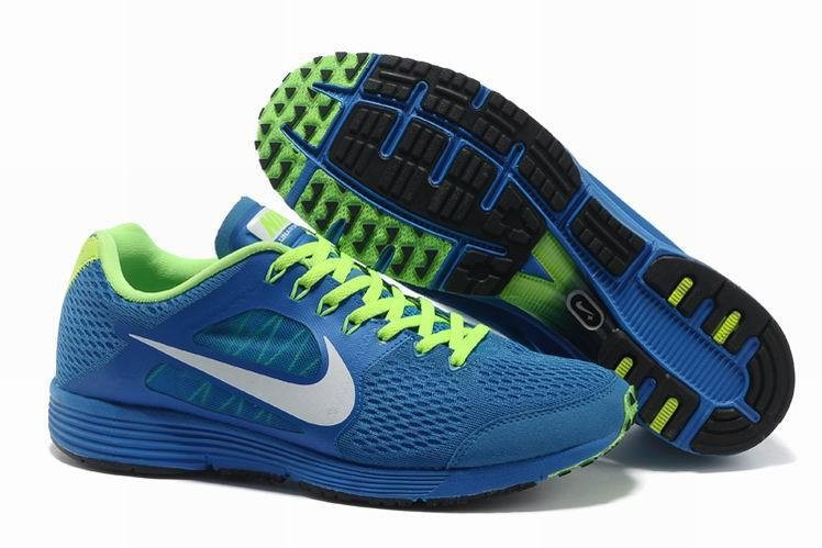 Nike Lunarspider LT+ 2 Mens Blue Green Running Shoes