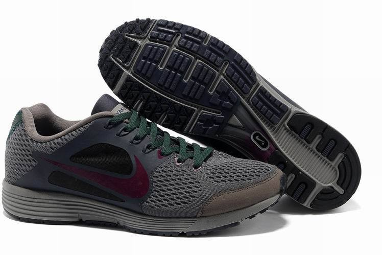 Nike Lunarspider LT+ 2 Mens Brown Grey Running Shoes